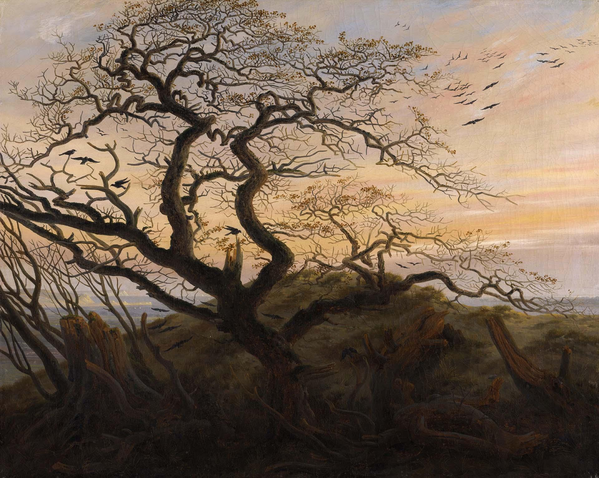 """""""L'Arbre Aux Corbeaux"""" de Caspar David Friedrich"""
