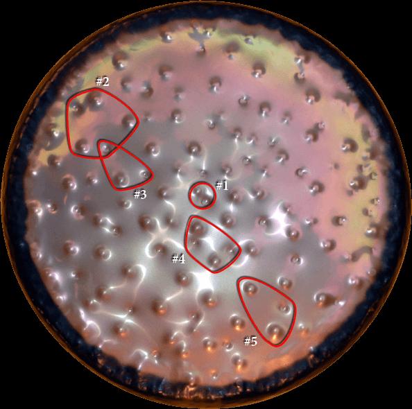 Carte du Gong Paiste Création Sonore #3. Terre