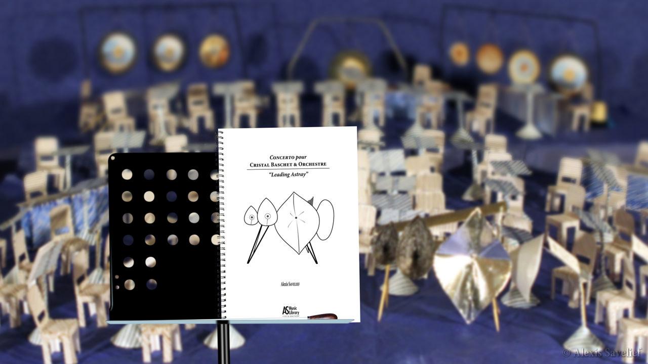 """Teaser #2 de """"Leading Astray"""", Concerto pour Cristal Baschet & Orchestre d'Alexis Savelief"""
